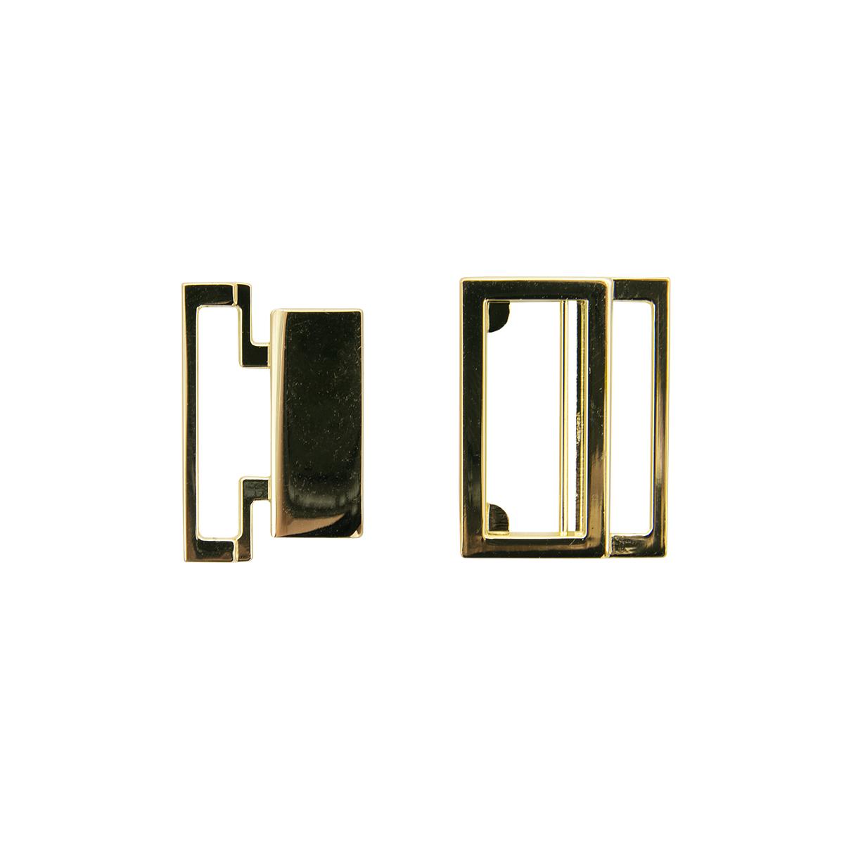 69034 Пряжка-застежка, золото, 20 мм, упак/2 шт., Hobby&Pro