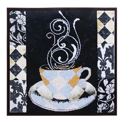 БН-3189 Набор для вышивания бисером Hobby&Pro 'Аромат чая', 36*36 см