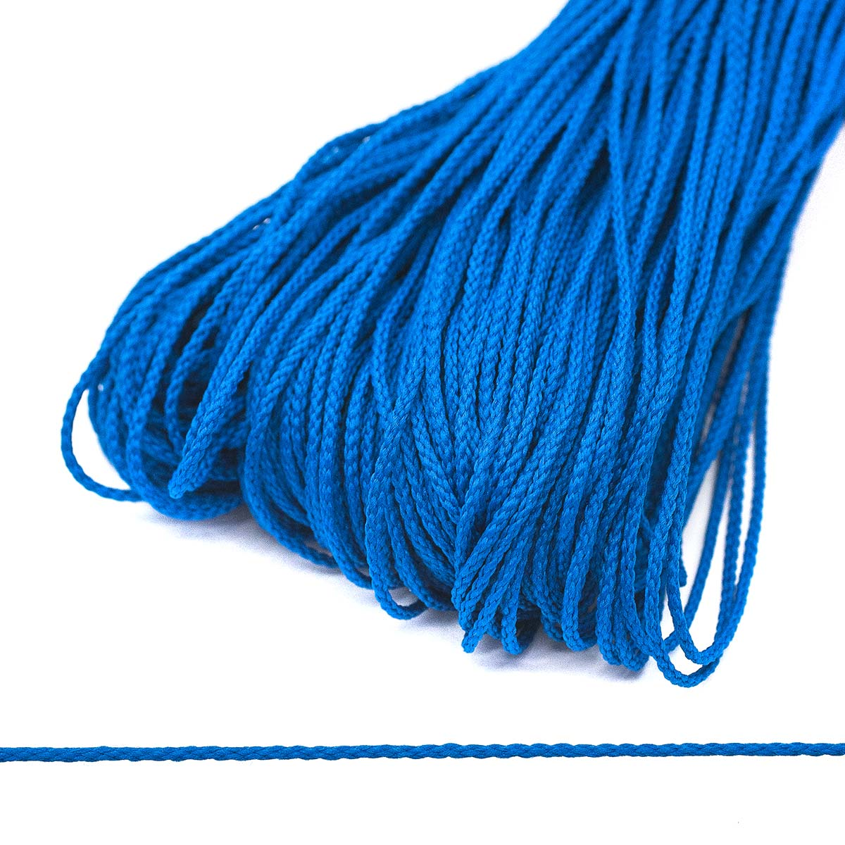 С16 Шнур плетеный 1,5мм*100м (Мн.) (171 т.васильковый) фото