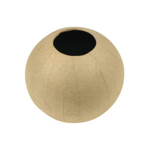 Фигурка из папье-маше, ваза/шар, 11*10,5 см HD004