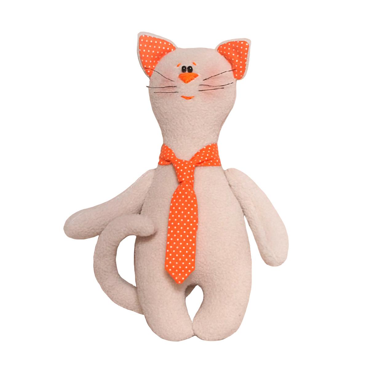 C004 Набор для изготовления игрушки 'CAT'S STORY' Котик в галстуке