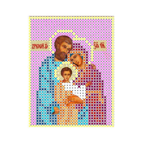 КБИ-6006 (Ф) Канва с рисунком для бисера 'Святое семейство' А6
