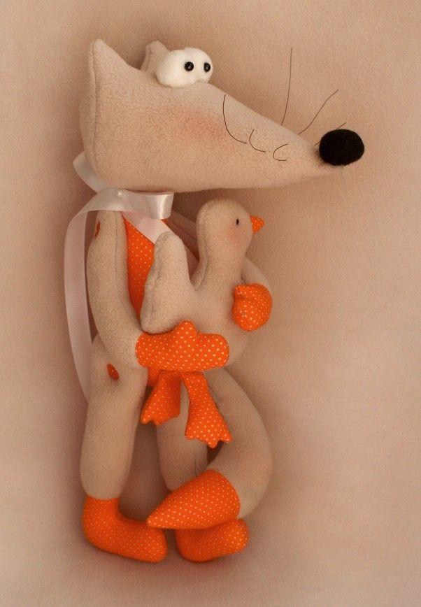FX001 Набор для изготовления текстильной игрушки 'FOX STORY' Fox (Ваниль)