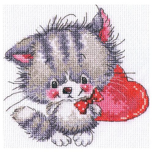 С217 Набор для вышивания RTO 'Доброе сердечко', 14х14 см