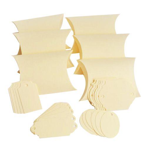 БОН300 Заготовки для бонбоньерок №3, комплект 6 шт., 10*2,7*6,5 см