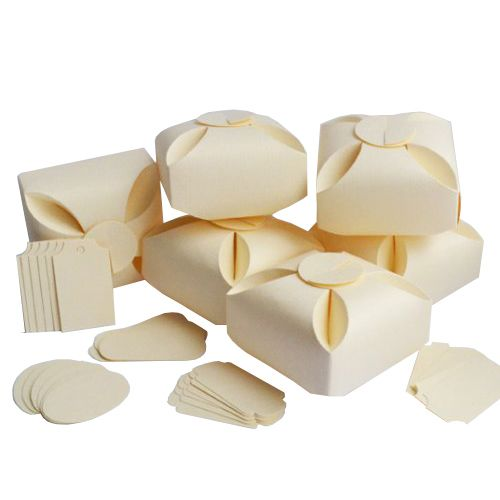 БОН500 Заготовки для бонбоньерок №5, комплект 6 шт., 7*7*4,5 см