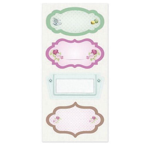 Тканевые стикеры Полуденный чай 2, 9.5*20 см SCB530102