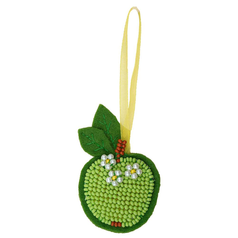 1482АС Набор для вышивания Riolis 'Зеленое яблочко', 4*6 см
