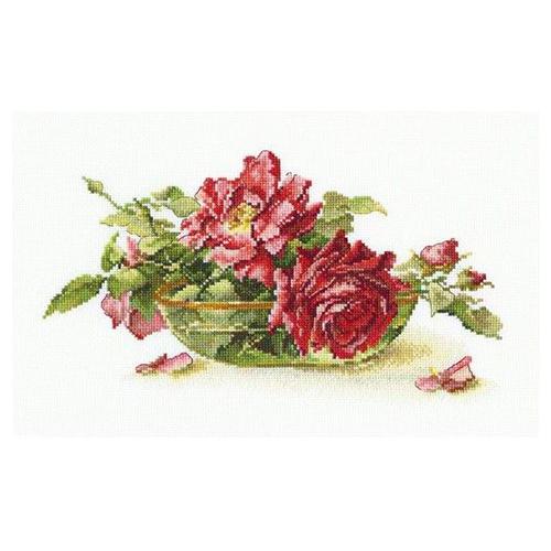 М525 Набор для вышивания RТО 'Розы в пиале', 27х17 см