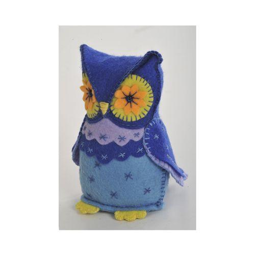 ПФЗД-1001 Набор для изготовления текстильной игрушки 'Мудрая Сова', 14,5 см, 'Перловка'