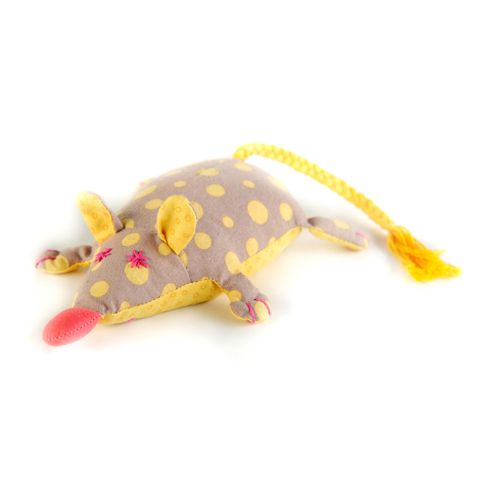 П102 Набор для изготовления текстильной игрушки 'Мышка-Перлушка', 16 см, 'Перловка'