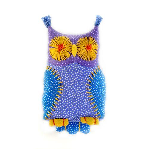 П113 Набор для изготовления текстильной игрушки 'Совёнок Ух', 14,5 см, 'Перловка'