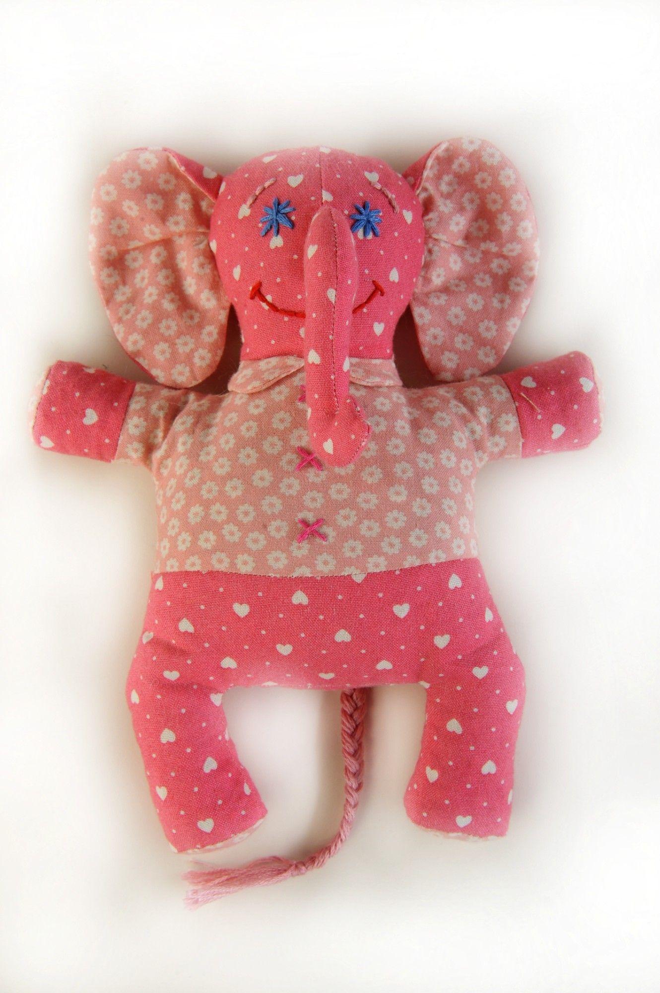П115 Набор для изготовления текстильной игрушки 'Слонёнок Фантик', 19 см, 'Перловка'