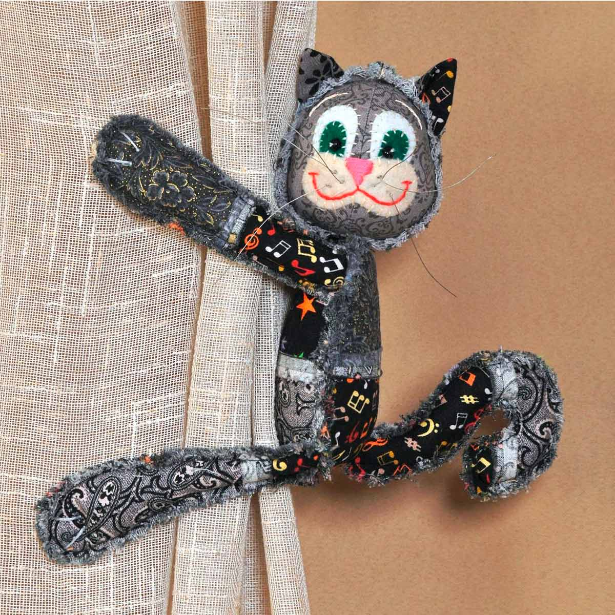 ПМ803 Набор для изготовления текстильной игрушки 'Чучело-Мяучило', 29 см, 'Перловка'