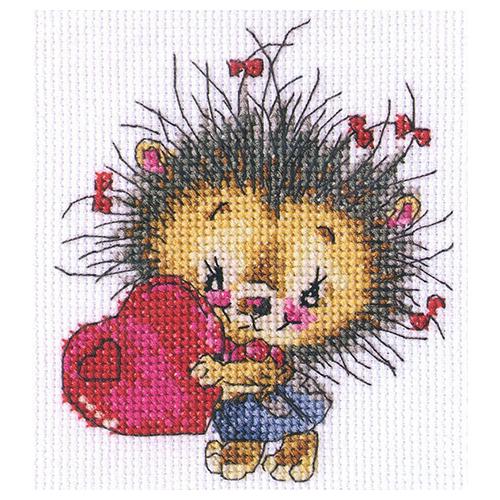 С215 Набор для вышивания RTO 'Доброе сердечко', 12х13 см фото