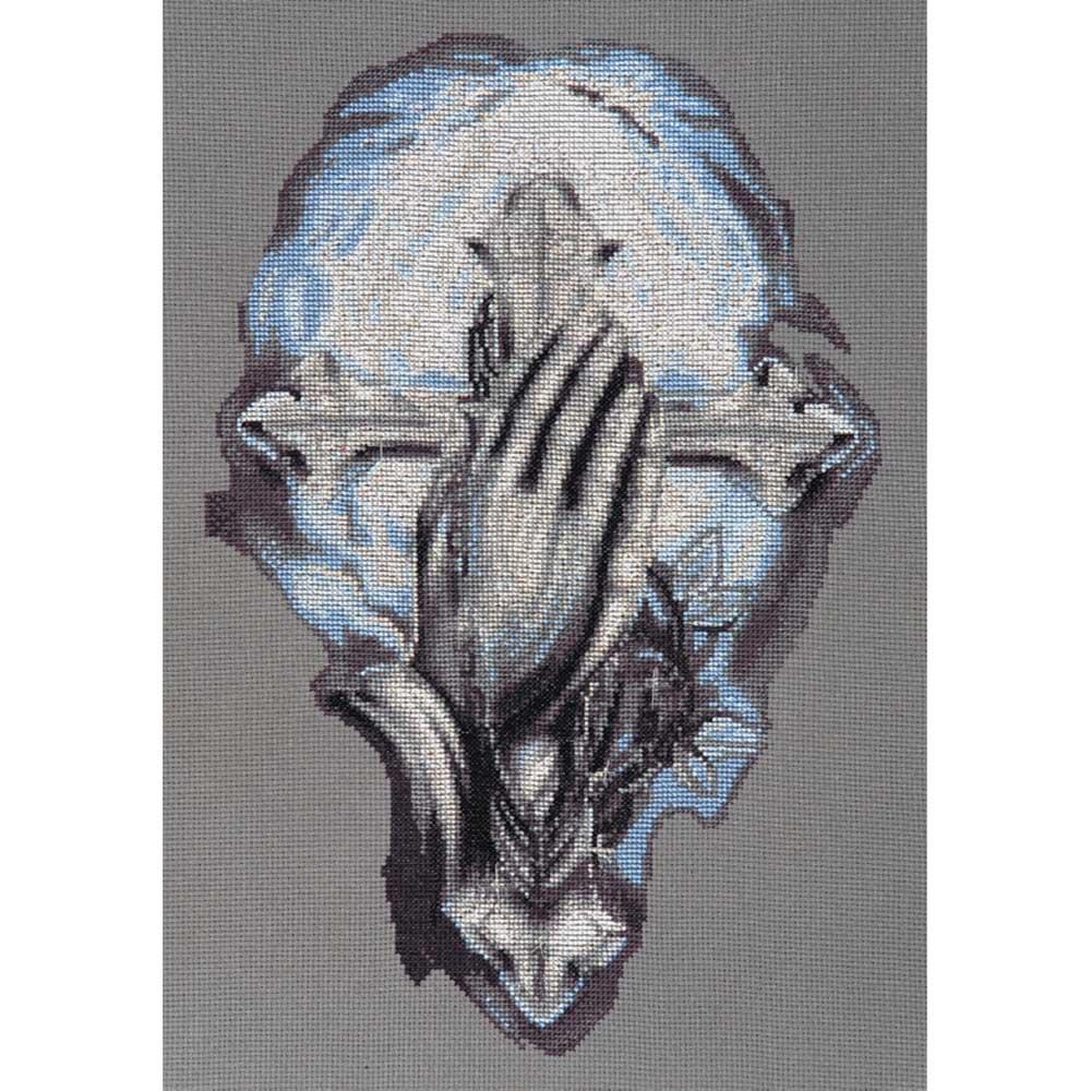 1197 Набор для вышивания Alisena 'Молитва о благе', 20*30 см