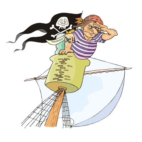 П0000207 Набор д/детского творчества 'Пираты №9' А4