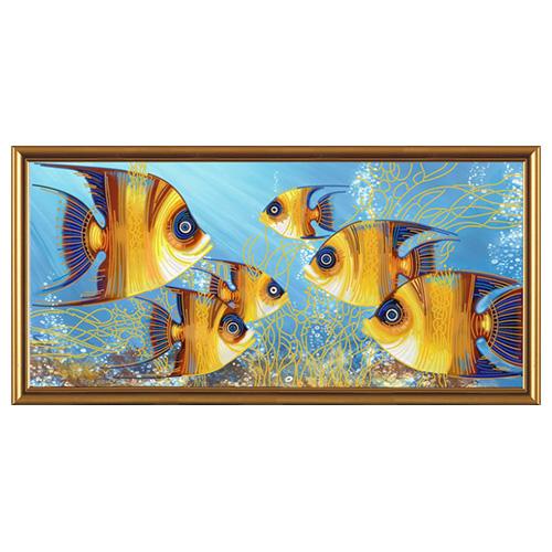 ДК6017 Набор для вышивания 'Нова Слобода' 'Рыбы', 65*30 см