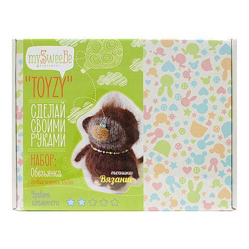 TZ-K006 Набор для вязания 'Обезъянка' Toyzy