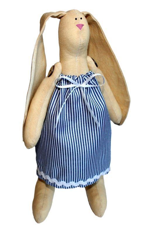 AM100004 Набор для изготовления текстильной игрушки 'Зайка Раиса', высота 29 см