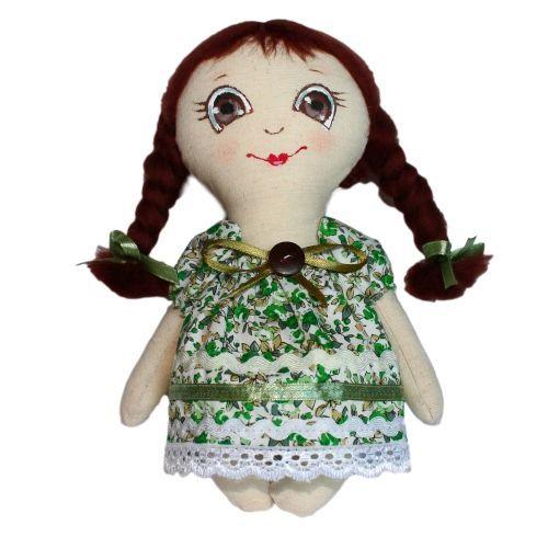 AM100007 Набор для изготовления текстильной игрушки 'Любочка', высота 22 см