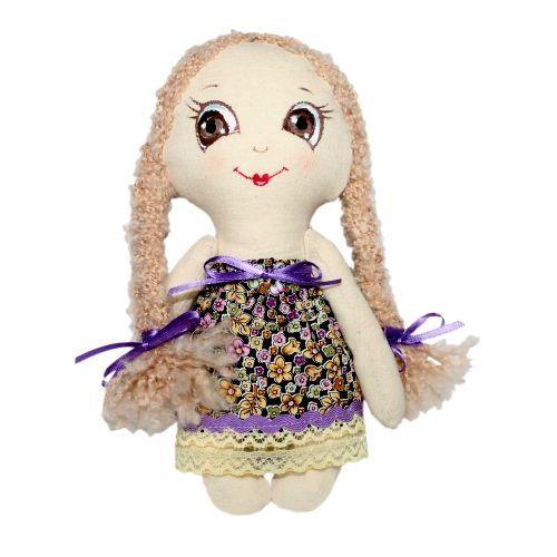 AM100008 Набор для изготовления текстильной игрушки 'Лерочка', высота 22 см