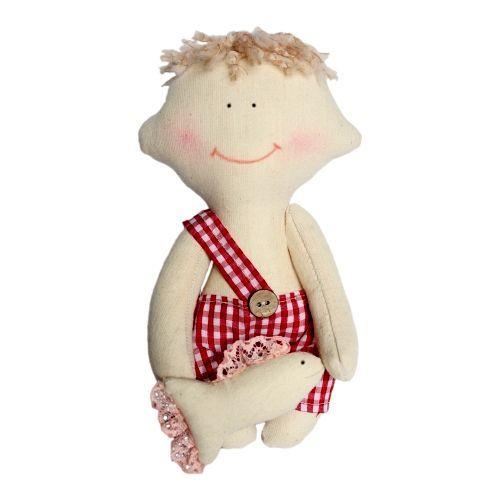 AM100014 Набор для изготовления текстильной игрушки 'Димка', высота 22 см