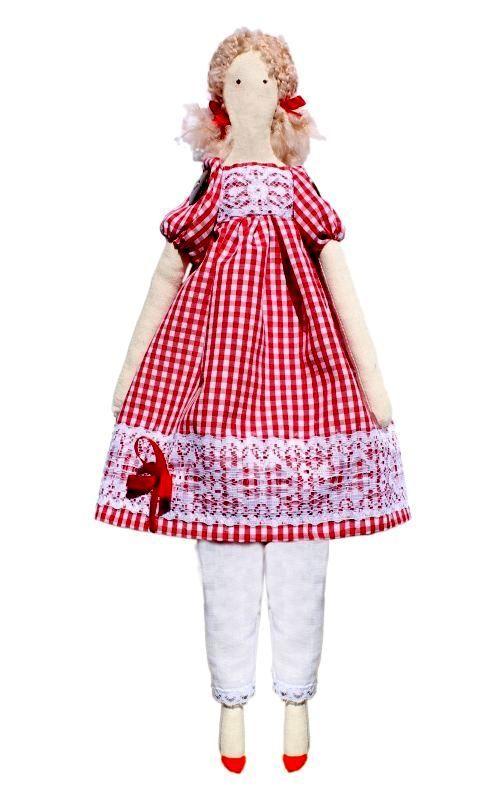 AM100016 Набор для изготовления текстильной игрушки 'Эмма', высота 42 см