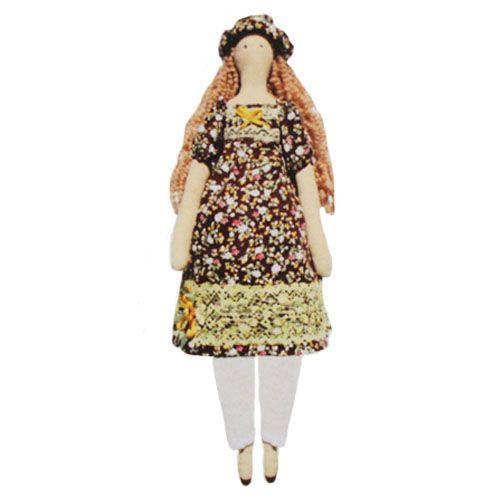 AM100017 Набор для изготовления текстильной игрушки 'Наталья', высота 42 см