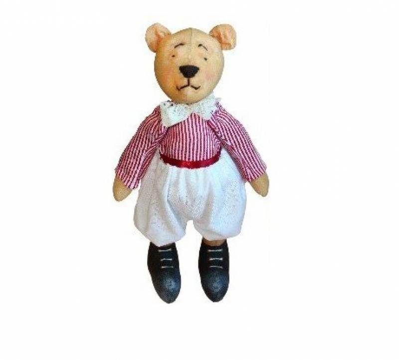 AM100025 Набор для изготовления текстильной игрушки 'Мишка Папа', высота 25 см
