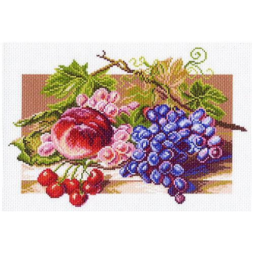 1178 Канва с рисунком 'Матренин посад' 'Солнечные плоды', 28*37 см