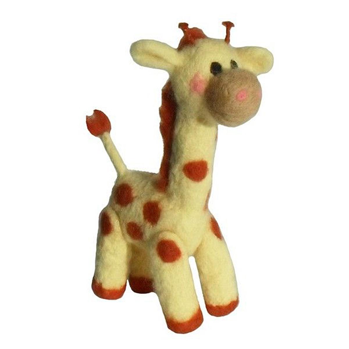 ВЛ-014 Набор для валяния 'Жираф', 17*5 см, 'Семицветик'