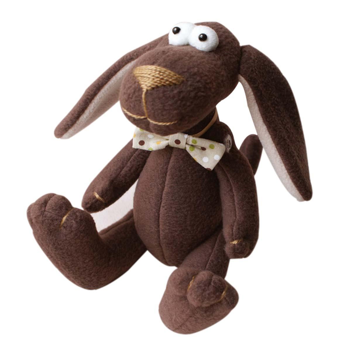 DG001 Набор для изготовления текстильной игрушки 25см 'DOG'S STORY' Собака (Ваниль)