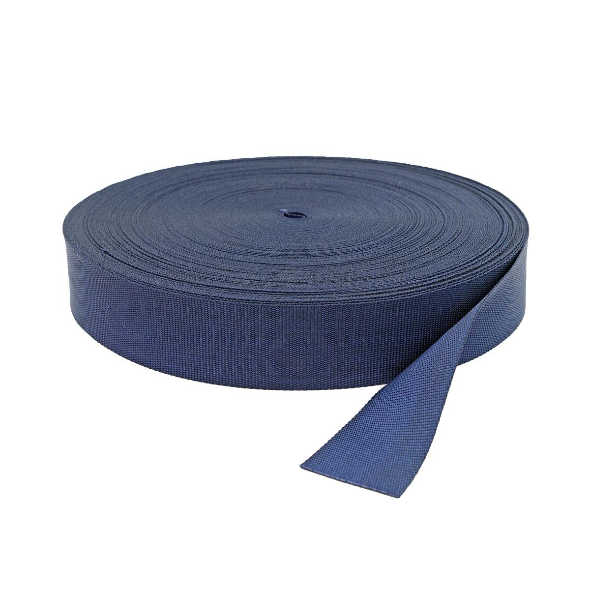 С762 Лента ременная, 4 см*50 м (030 т.синий) фото