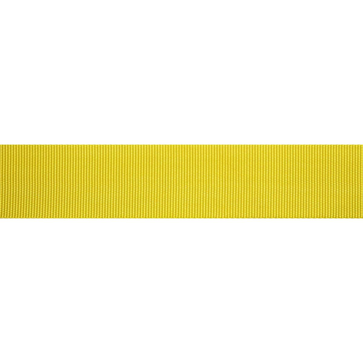 С762 Лента ременная, 4 см*50 м (006 желтый) фото