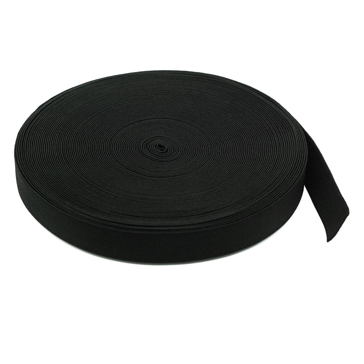Тесьма эластичная 04СР20, черная