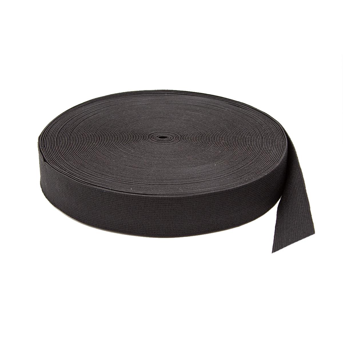 Тесьма эластичная 04СР30 черная