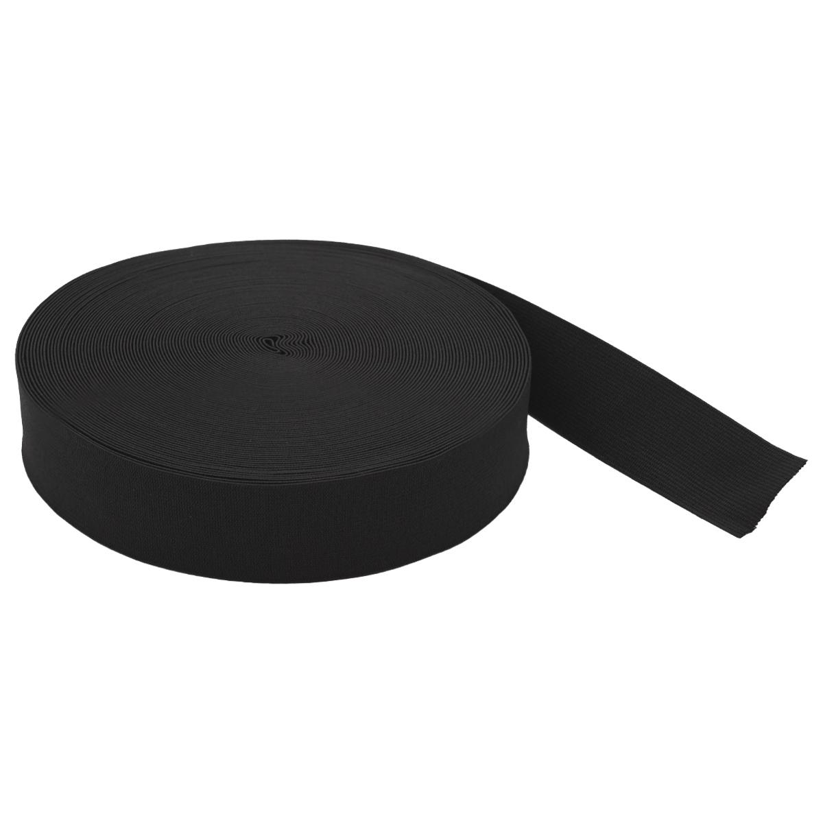 Тесьма эластичная 04СР35 черная