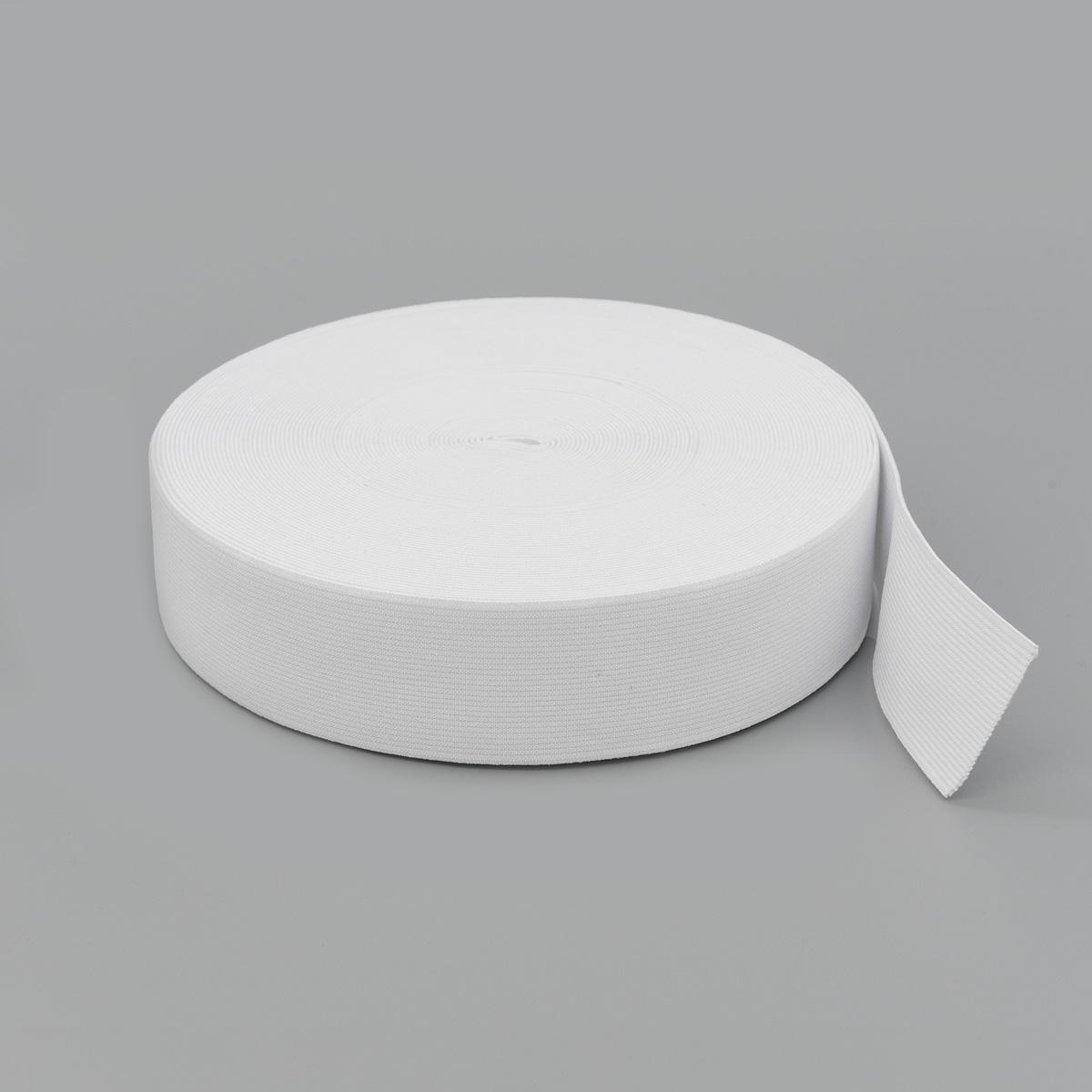 Тесьма эластичная 04СР40 белая