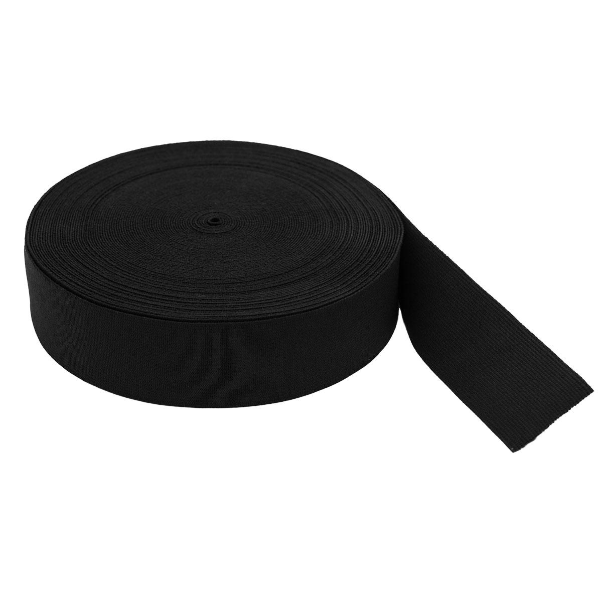 Тесьма эластичная 04СР40 черная