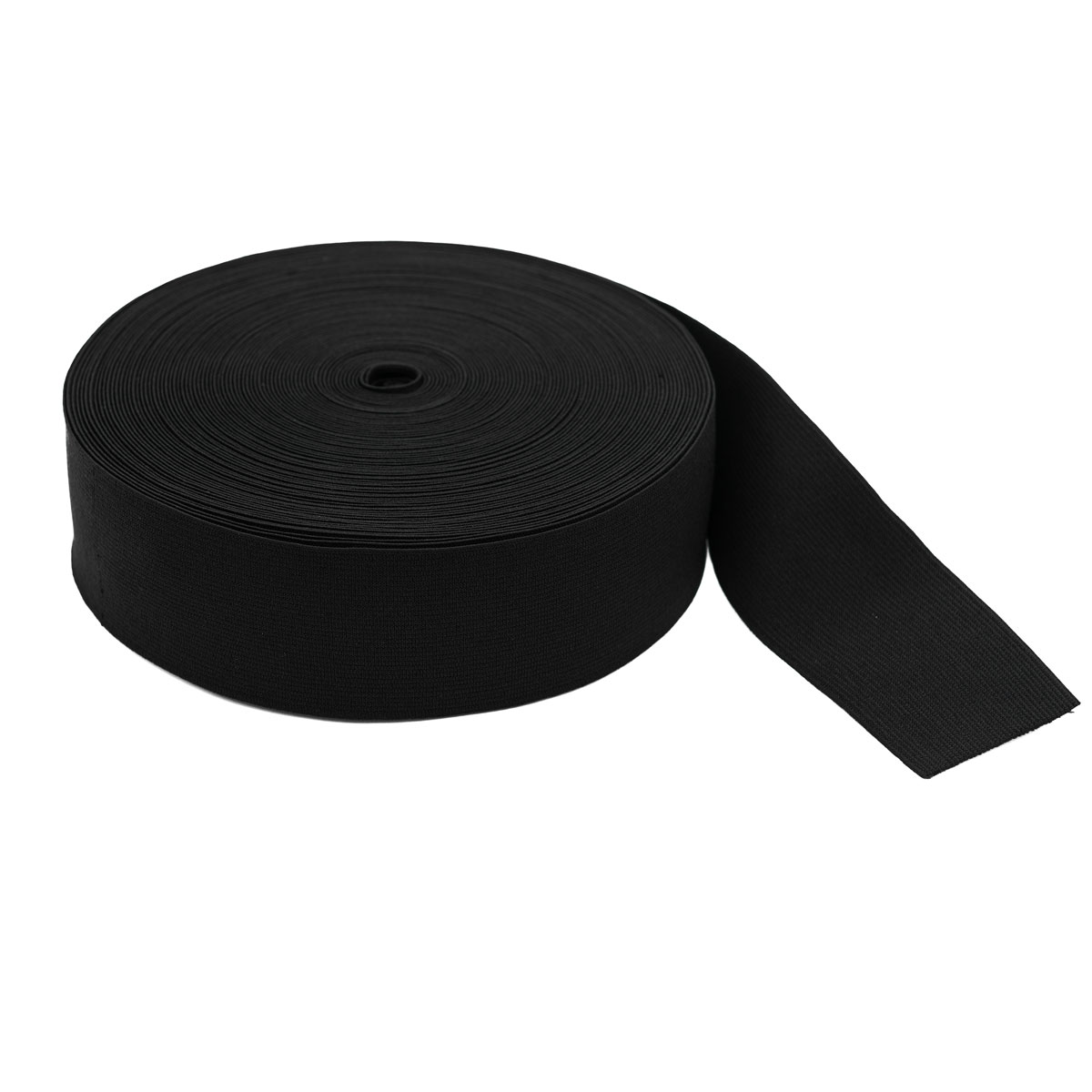 Тесьма эластичная 04СР50 черная