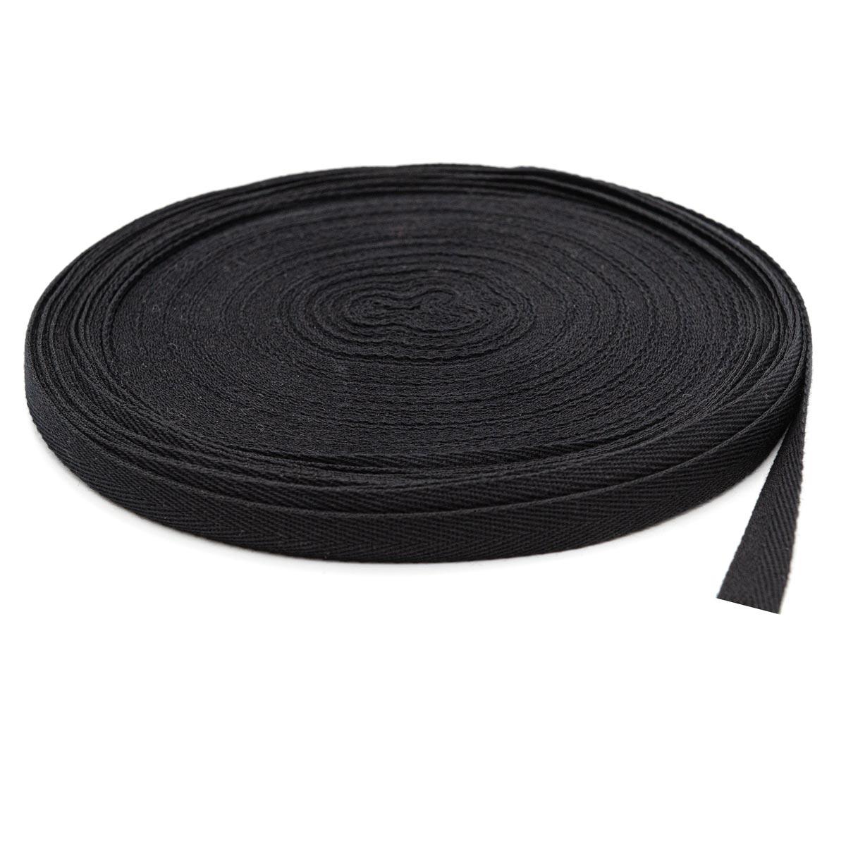 1015Ч Лента киперная 15мм*50м, черная