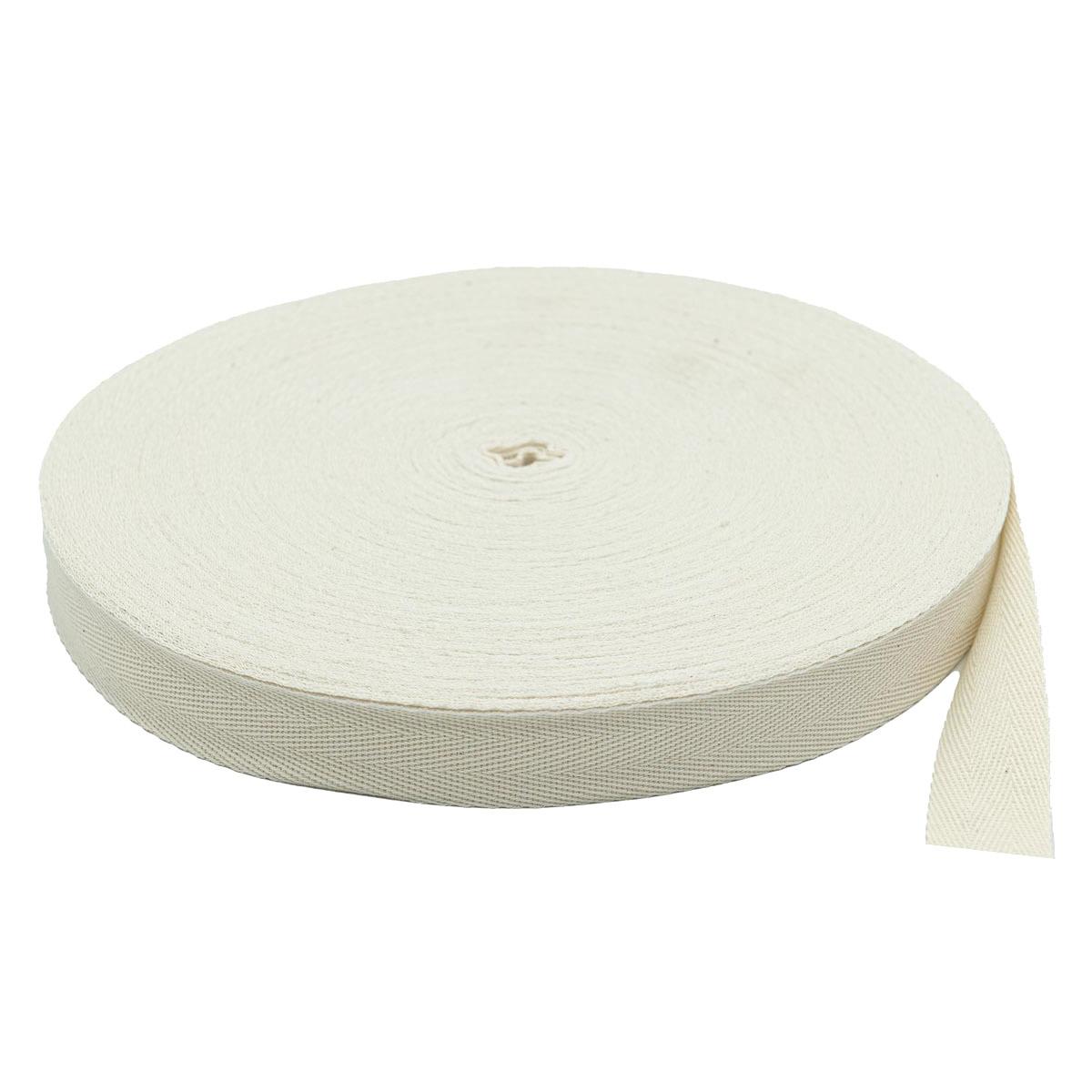1025Б Лента киперная 25мм*50м , белая