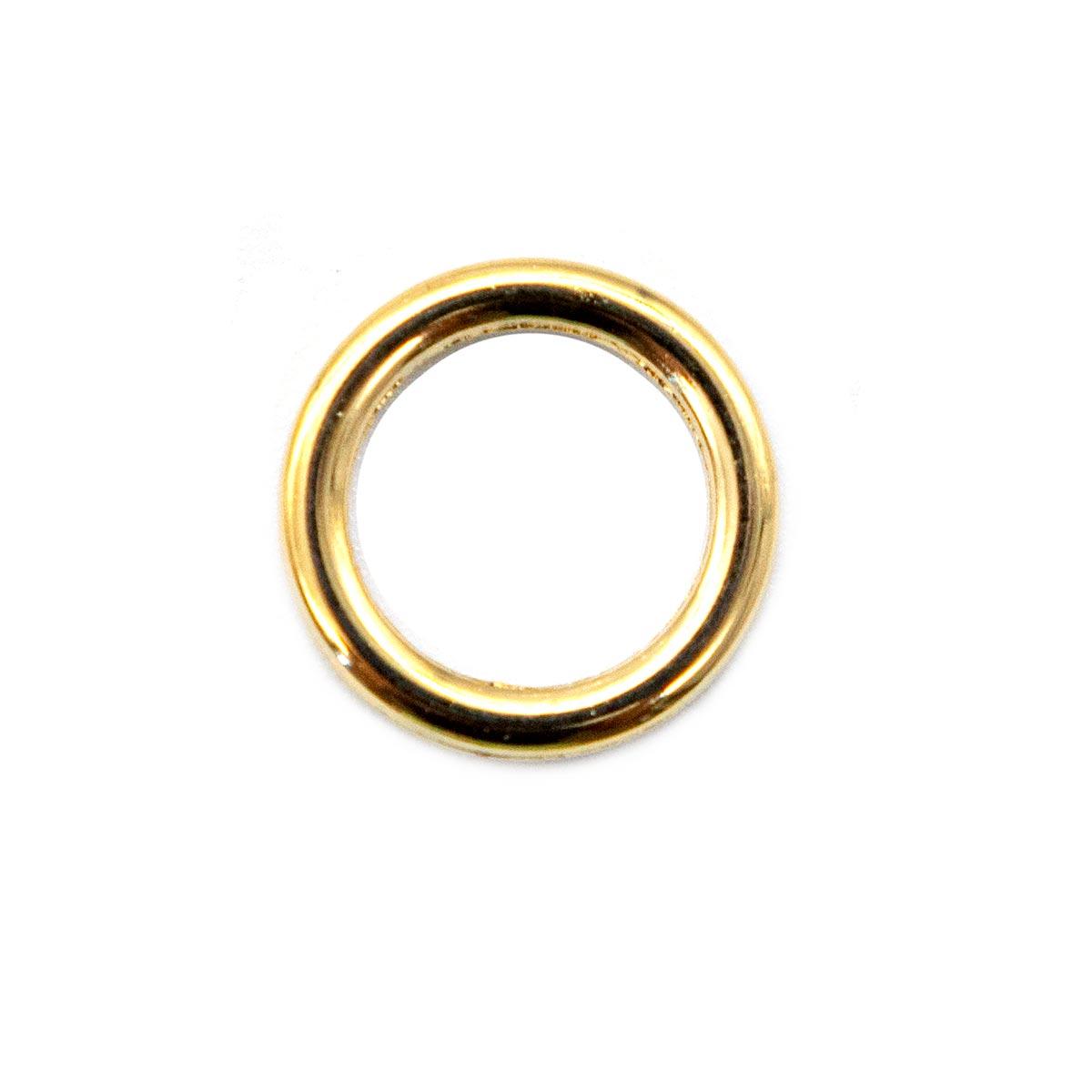 01-3154/10 зол Кольцо 10мм ГР