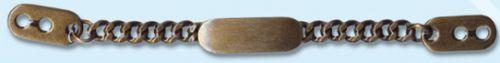 53564 Цепочка-вешалка 100мм лат ГР