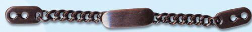 53565 Цепочка-вешалка 100мм т.медь ГР