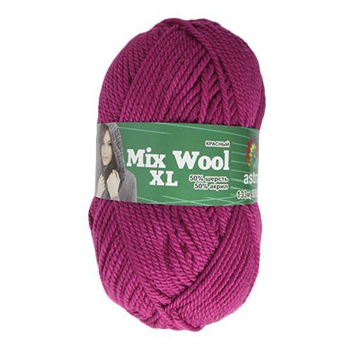 Пряжа 'Астра' 'MIX Wool XL/Полушерсть толстая', 133 м/100 гр., 50% шерсть, 50% акрил