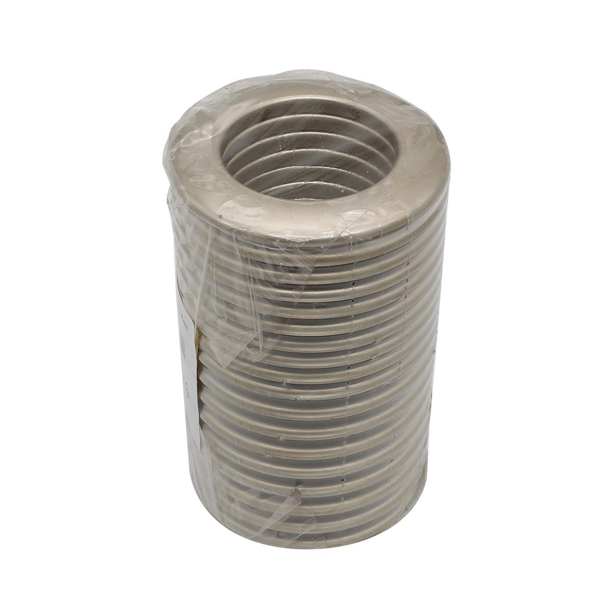55-35-20 Люверс шторный 35мм матовая сталь ГР