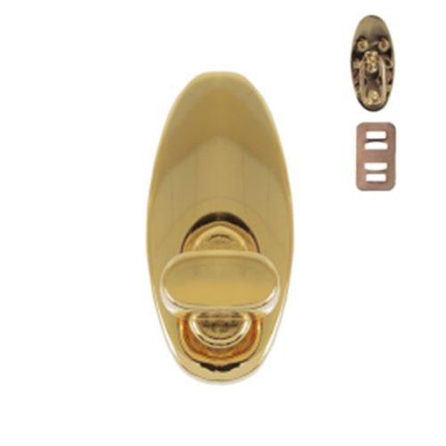 К 2971 Застежка поворотная, золото, 3,5*1,6*2,1 см