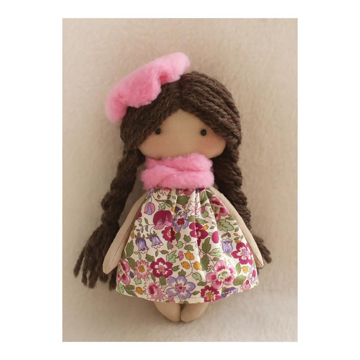МК-02 Набор для изготовления текстильной игрушки HAPPY HANDS 'Софийка' 15см фото